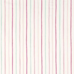 cortinas rayas rosas
