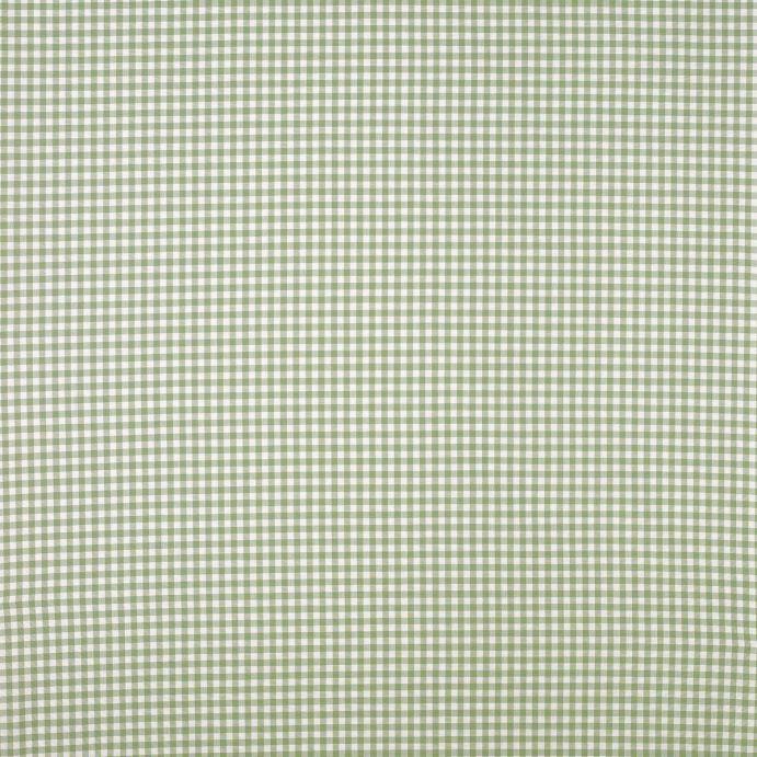 tela Gingham verde
