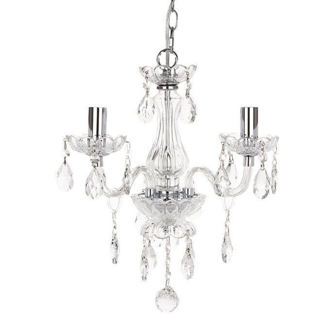 lámpara de cristal tipo araña de diseño