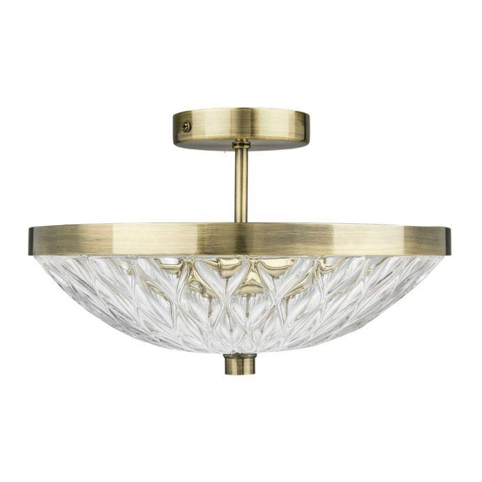 L mpara de techo lydford bronce envejecido - Lamparas de cristal para techo ...