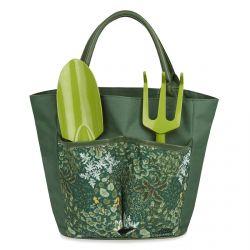 bolsa de jardinería verde de diseño