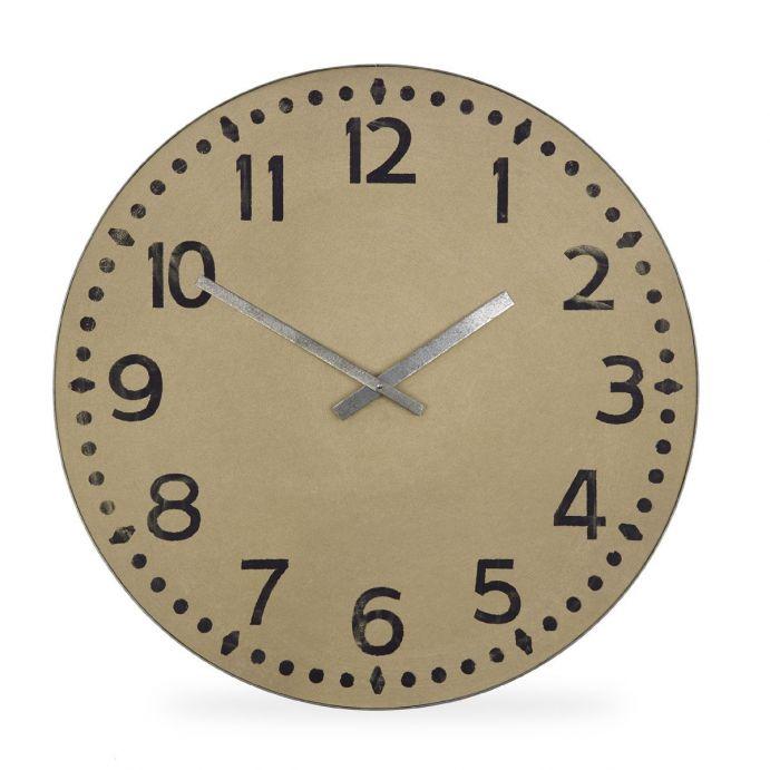 gran reloj de pared natural de diseño