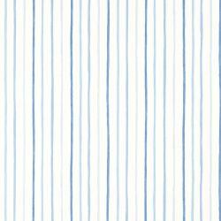 Papel pintado Painterly Stripe azul