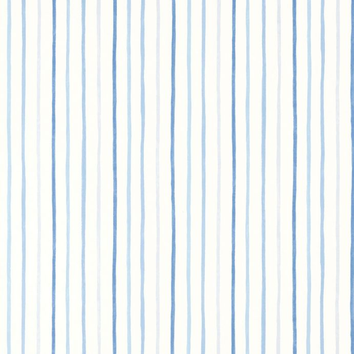 Papel pintado painterly stripe azul for Papel pintado azul