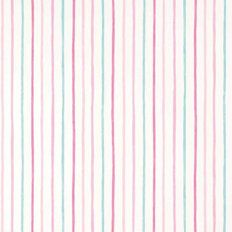 Papel pintado painterly stripe rosa laura ashley decoraci n - Laura ashley papel pintado ...