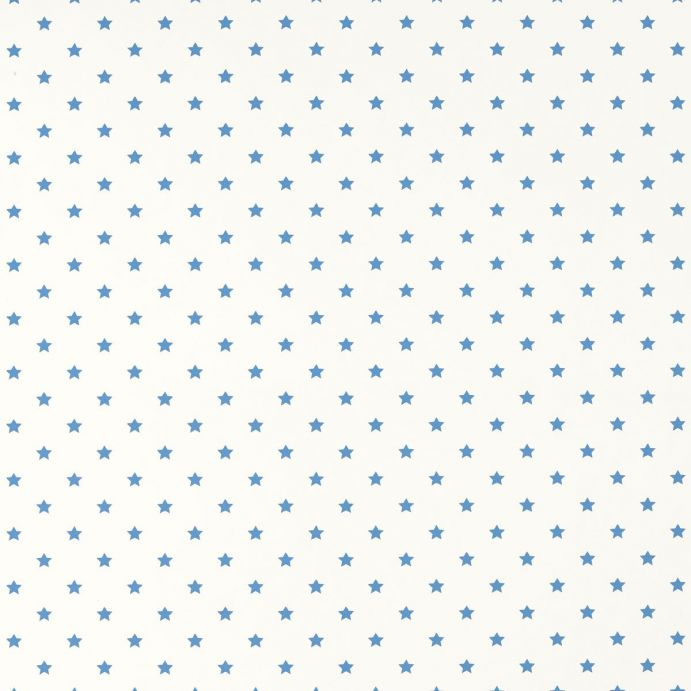 papel pintado de estrellas azules de diseño infantil