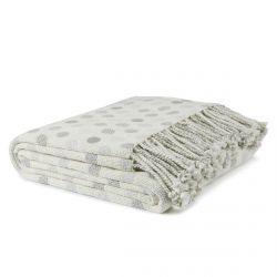 manta con topos grises de diseño