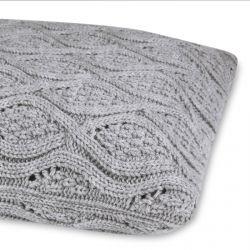 cojín Payton Knitted acero