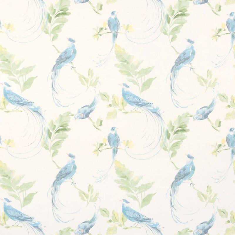 Papel pintado harewood azul verdoso laura ashley decoraci n - Laura ashley papel pintado ...