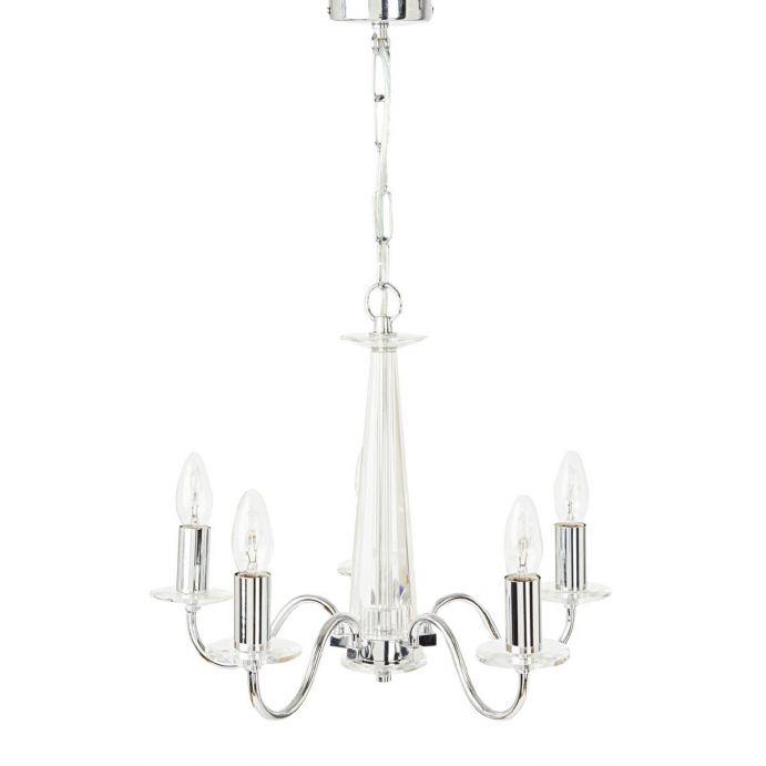 lámpara de techo de cristal de diseño