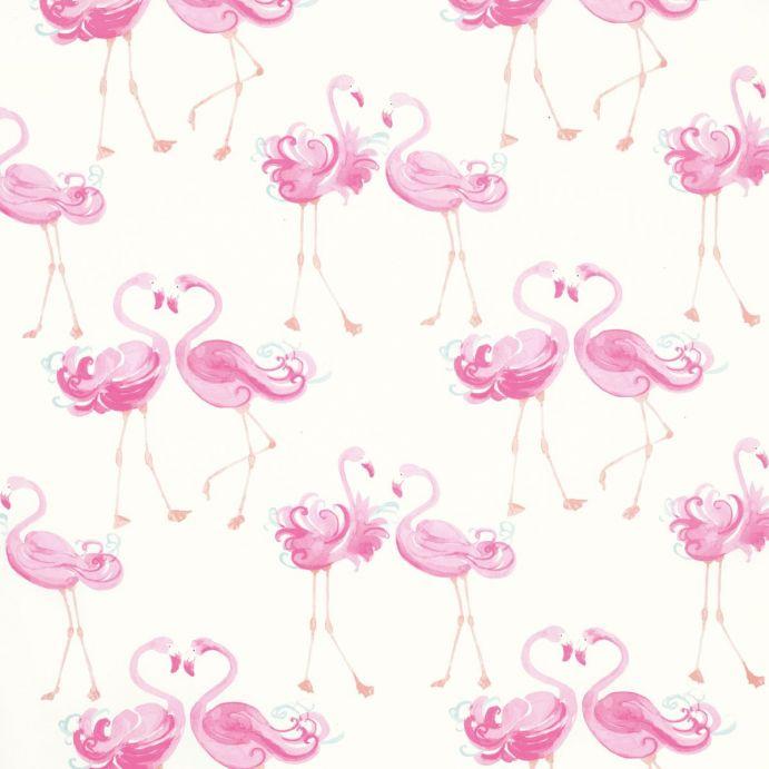 tela de flamencos rosas de diseño