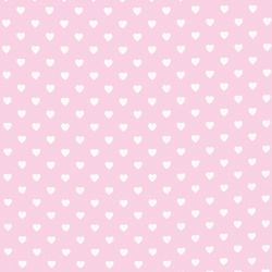 tela Hearts rosa