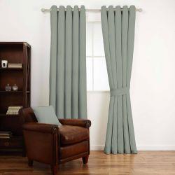 tela lisa gris verde de diseño