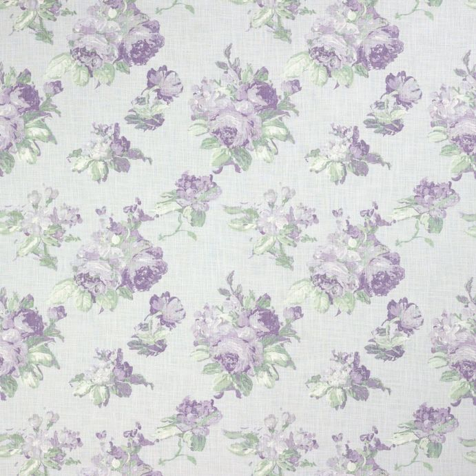 Tela violetta plata blanco - Telas laura ashley ...