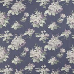 tela de rosas moradas sobre fondo iris de diseño