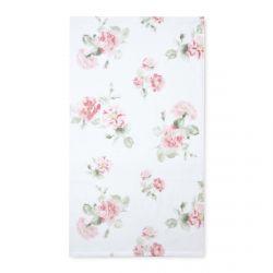 toallas de algodón estampadas con rosas de diseño