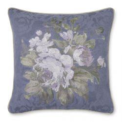 cojín con bordado de flores bordado de diseño