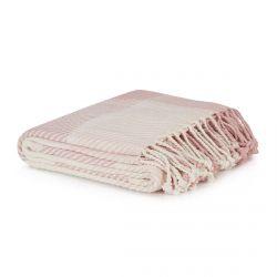 manta de cuadros en rosa maquillaje de diseño