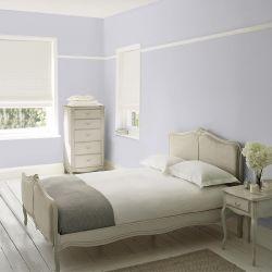 pintar paredes en precioso blanco con notas gris pizarra
