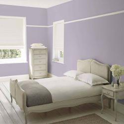 pintar paredes en morado iris pálido con estilo