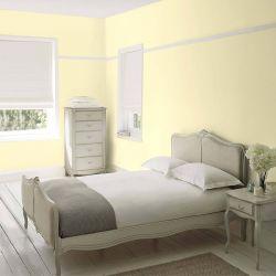 pintar paredes en amarillo primavera pálido con estilo