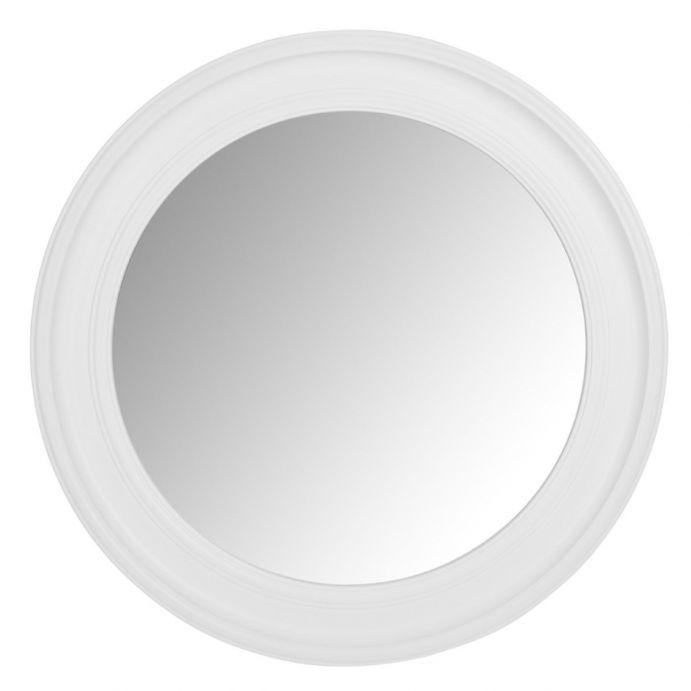 Espejo Alena Redondo Blanco Grande