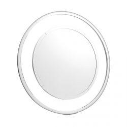 espejo redondo de marco sencillo espejado de diseño