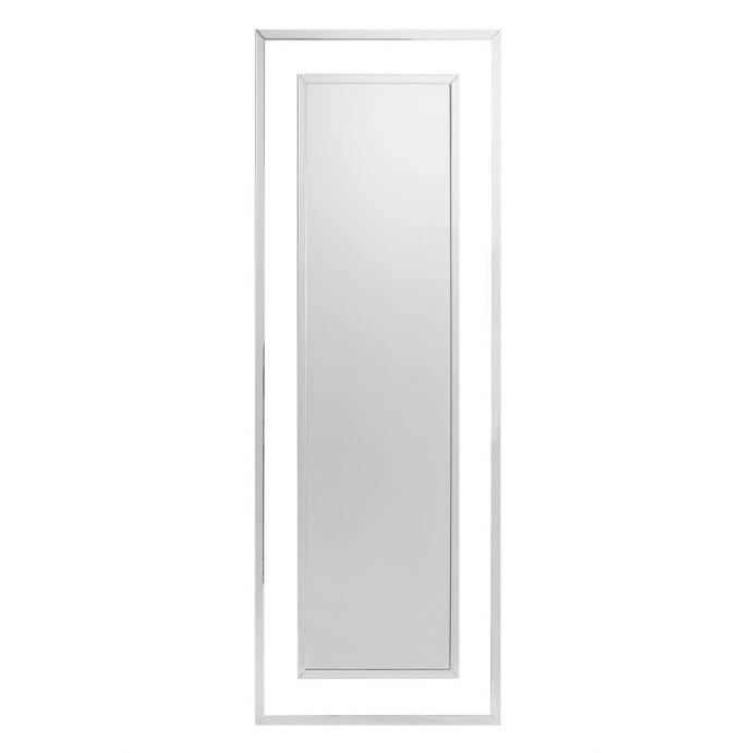 espejo completo de marco espejado de diseño