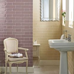 baldosas de color moradas de alto brillo de diseño