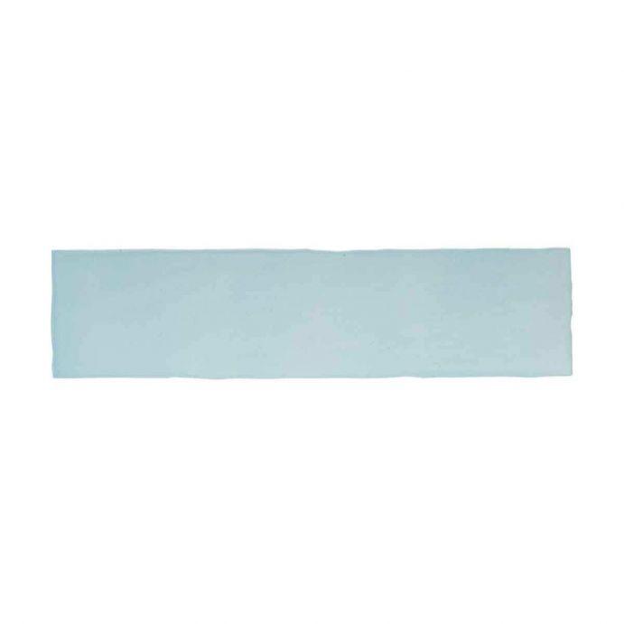 baldosas de color azul de alto brillo de diseño