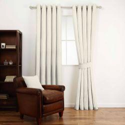 tela de cuadros amarillo y gris para confección de cortinas de diseño
