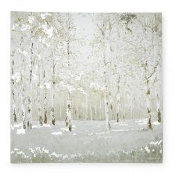 cuadro naturaleza en invierno de diseño