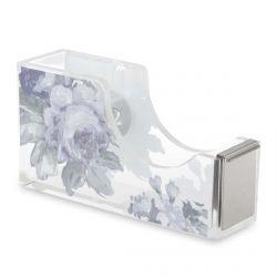 dispensador para celo cinta adhesiva de diseño floral