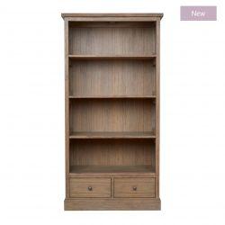 librería de diseño madera mindi