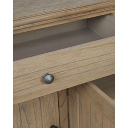 aparador de diseño de madera de mindi