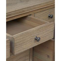 mesa de café de diseño de madera de mindi