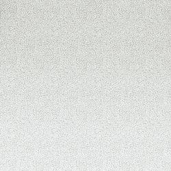 papel pintado de pequeñas hojas blancas sobre fondo gris acero