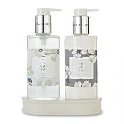 set de jabón y crema de manos de regalo de diseño
