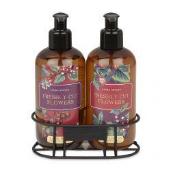 set de jabón y crema de manos perfumado de diseño