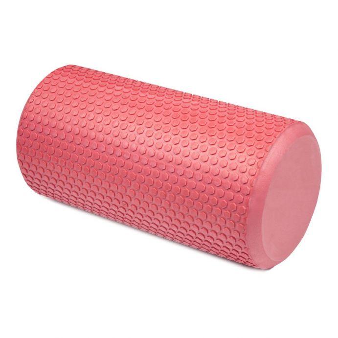 rodillo de yoga y pilates de diseño en rosa