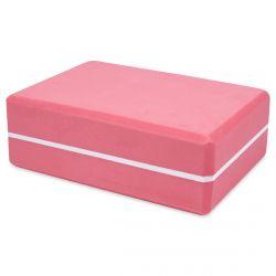 ladrillo de yoga y pilates de diseño en rosa