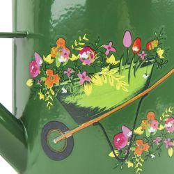 regadera de metal verde de diseño