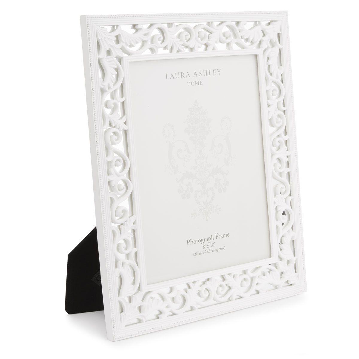 marco Rococo blanco