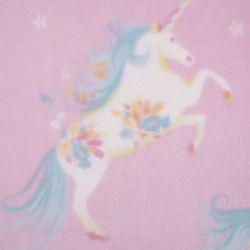 mantita rosa estampada con bonitos unicornios de diseño