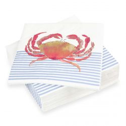 servilletas de papel Crab
