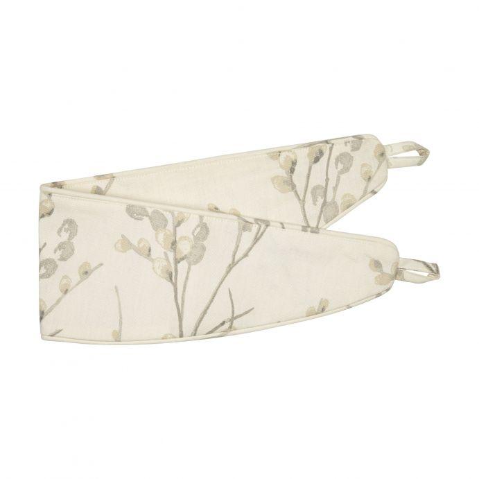 sujeción para cortinas textil estampado de diseño