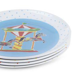 platos de melamina multicolor de diseño