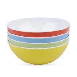 cuencos de melamina multicolor de diseño