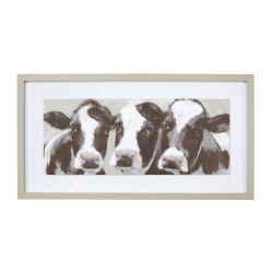 lámina enmarcada Dairy cows
