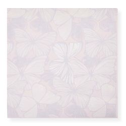 servilletas de papel estampadas con mariposas, de diseño